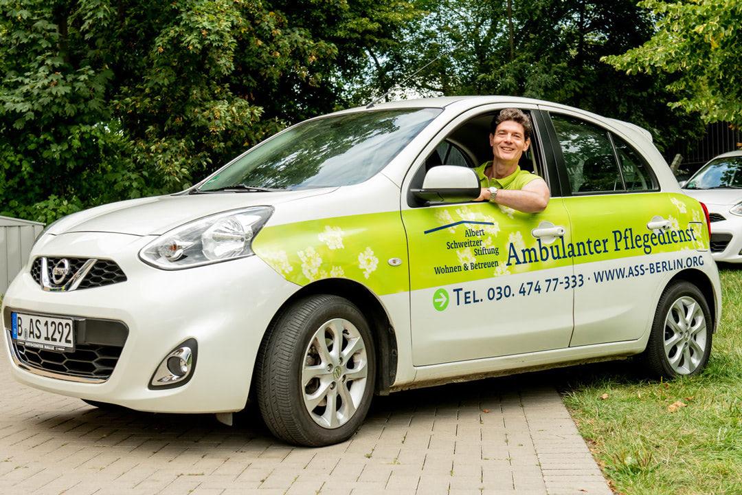 Der ambulante Pflegedienst bietet Pflege und Betreuung in den eigenen vier Wänden.