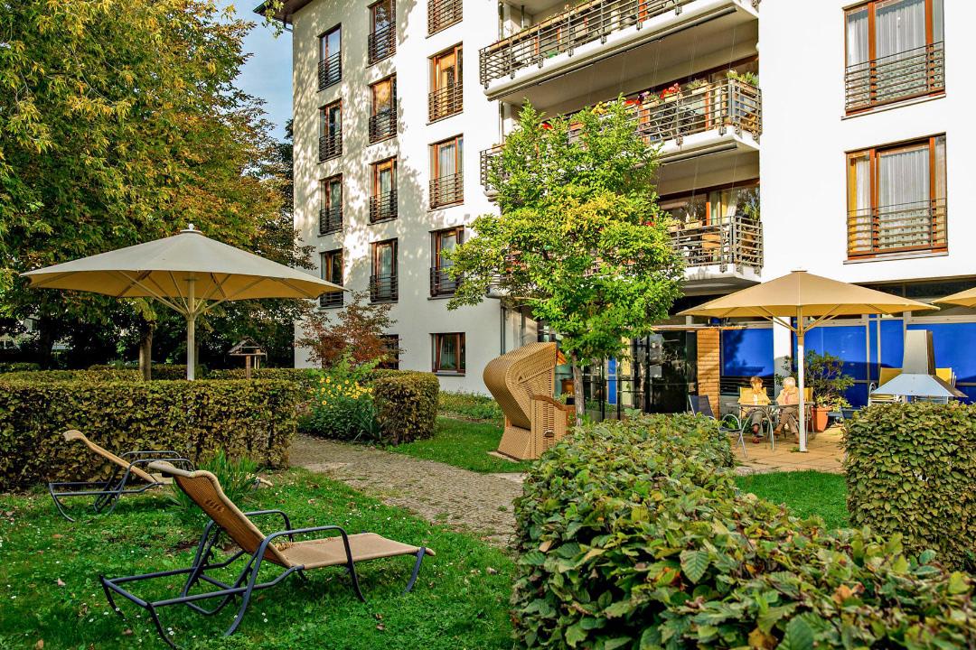 Haus Kaysersberg mit Gartenansicht