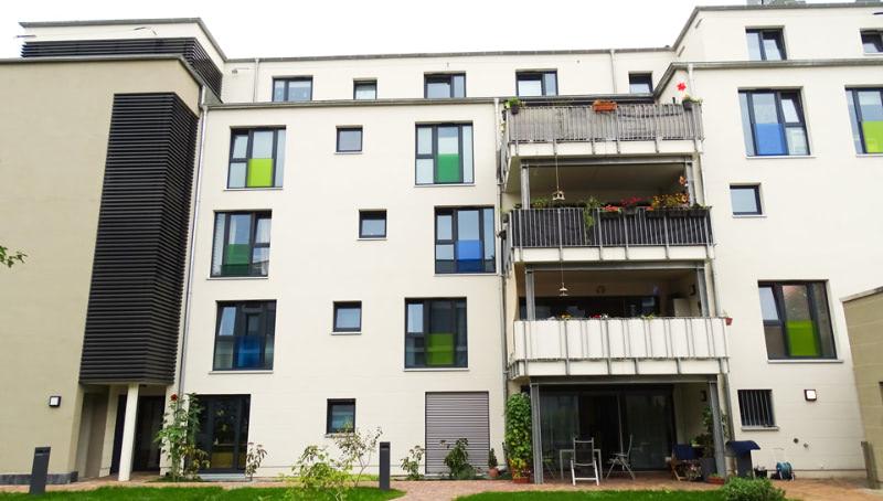 Die neue Wohnstätte im Haus Gabun ist hell und großzügig gestaltet.