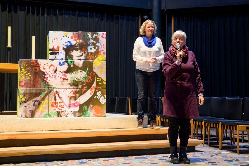Lisa Riefle auf der Bühne