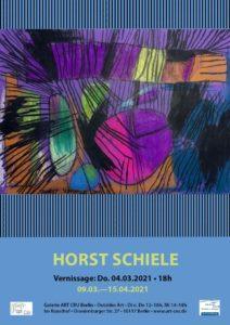 Ausstellung von Horst Schiele in der Galerie Art Cru
